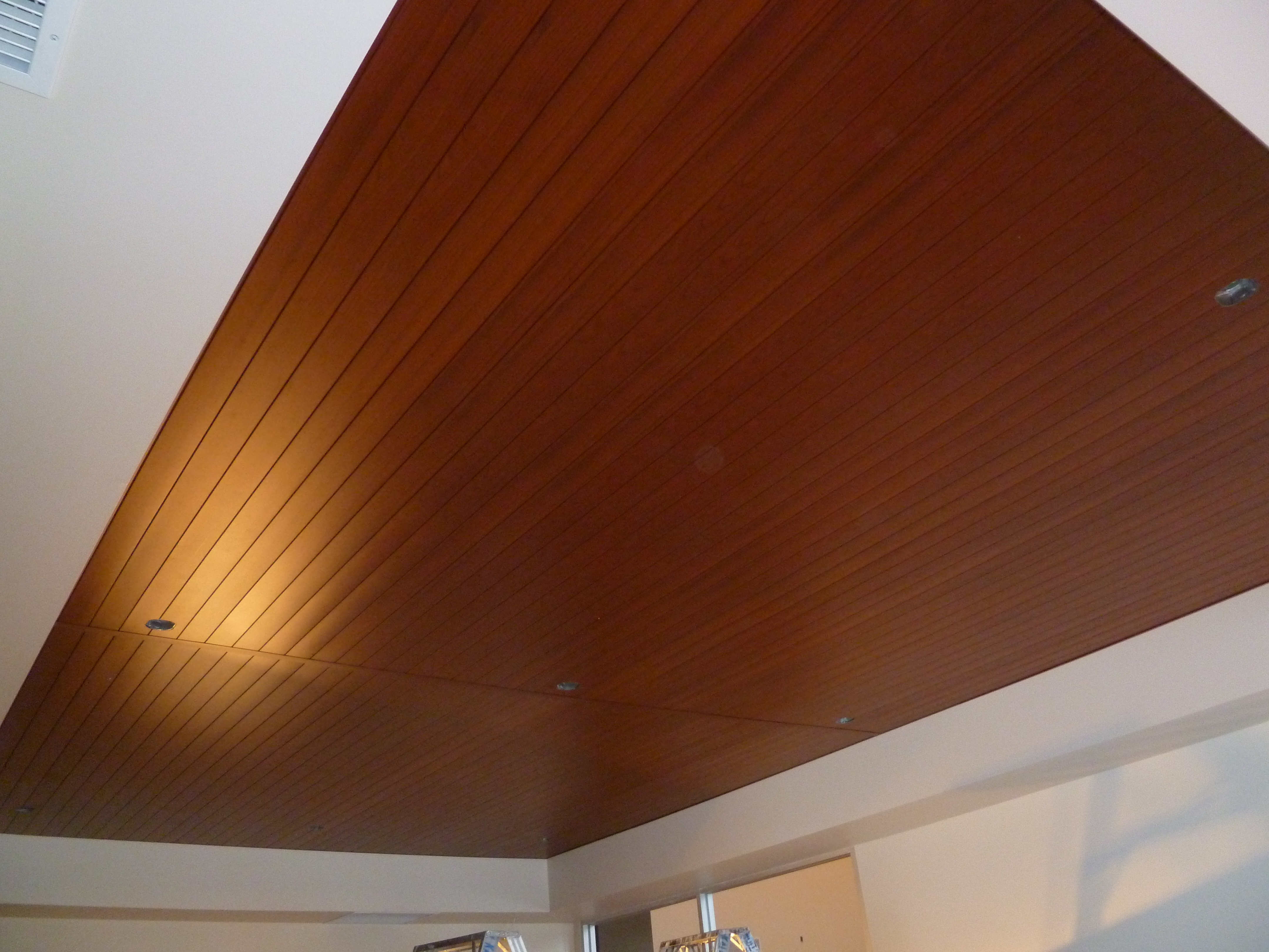 commercial renovations ceiling cladding
